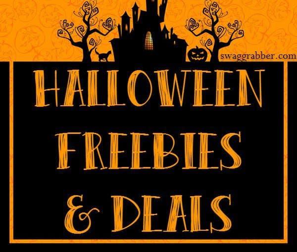 2017 Halloween Freebies & Deals