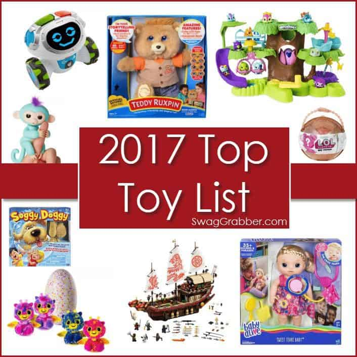 SwagGrabber's 2017 Top Holiday Toy List