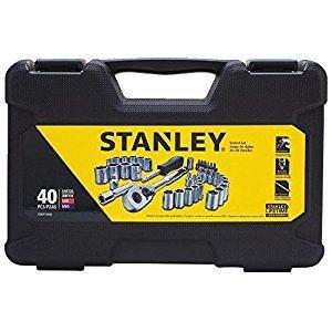Stanley 40-Piece Socket Set $17.49