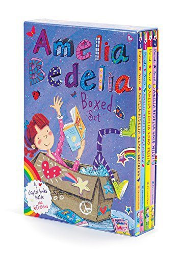 Amelia Bedelia Chapter Book Box Set: Books 1-4 ONLY $6.95