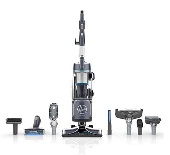 Hoover REACT Powered Reach Premier Bagless Upright Vacuum $155.99 (Was $350)