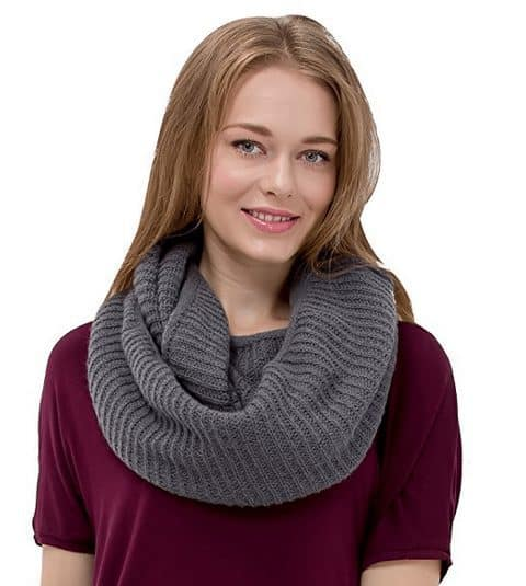 Women's Knit Infinity Scarf ONLY $8.99 (Was $43)