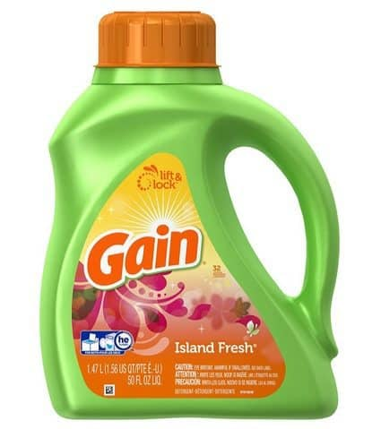 Gain Liquid Detergent Deal - 50 Ounce Only $4.64