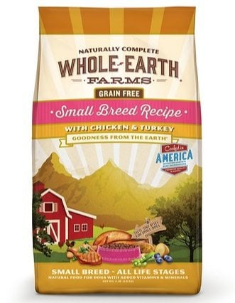 Whole Earth Farms Dog Food 4 Pounds Only $6.54 (Was $16)