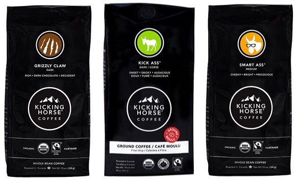 Kicking Horse Coffee Deals - 10oz Bag Dark Roast Only $6.07 Shipped