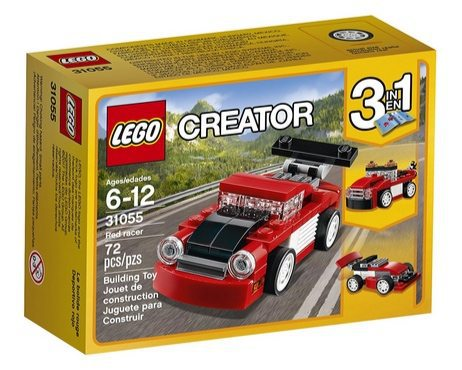 LEGO Creator Red Racer Building Kit Only $3.99