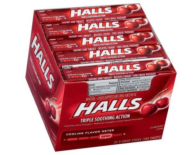 HALLS Cough Drops Deal - 180 Count Only $3.90 Shipped