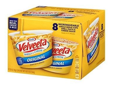 Velveeta Shells & Cheese Pasta Single Serve Microwave Cups 8 Count $5.59 - 70¢ Each Shipped!