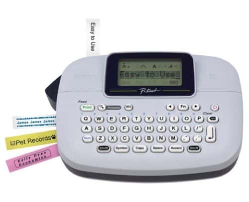 Brother P-touch Handy Label Maker $9.99 (Was $26)