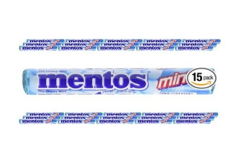Mentos Mint Candy Rolls 15-Pack $2.84
