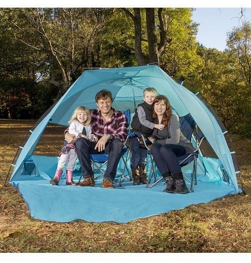Arcshell Extra Large Pop Up Beach Tent $45.49 (Was $170)