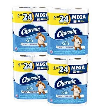 Charmin Ultra Soft Toilet Paper Deal - 24 MEGA Rolls Only $19.52 Shipped