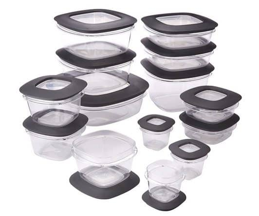 Rubbermaid Premier Food Storage Containers 28-Piece Set $25.19 **Today Only**