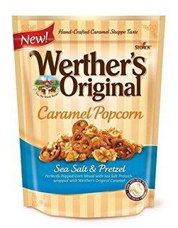 Werther's Original Caramel Popcorn Sea Salt & Pretzel Only $1.89