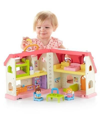Fisher-Price Little People Surprise & Sounds Home Playset $28.49 **Highly Rated**