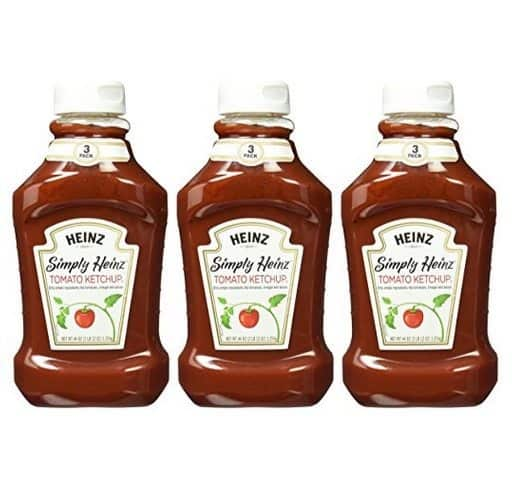 3-Pack Heinz Simply Tomato Ketchup 44 Oz Only $8.29