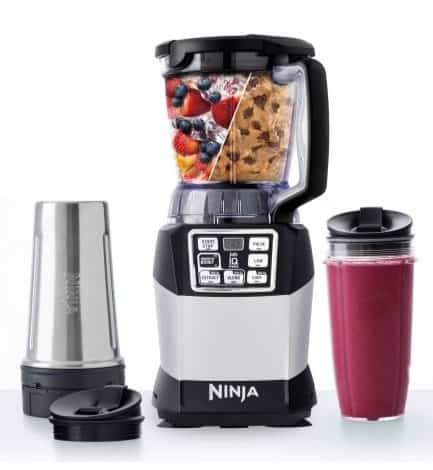 Nutri Ninja Auto-iQ Compact Blender System $45.38 (Was $130)