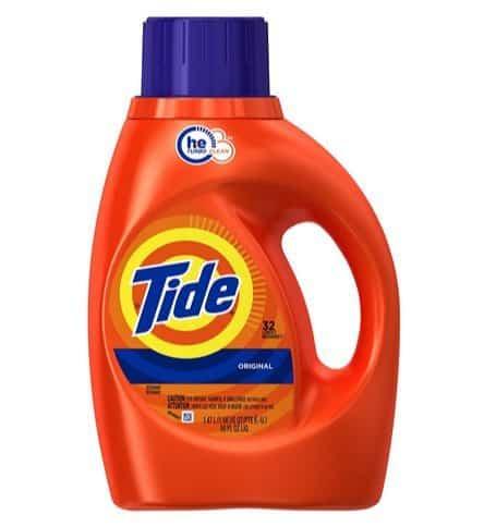 Tide HE Liquid Detergent 50 oz Only $4.89