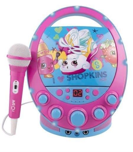 Shopkins Flashing Light Karaoke $18.97 (Was $49.96)