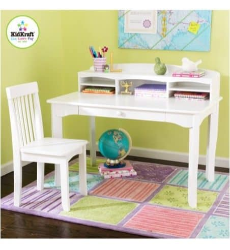 Kidkraft Avalon Desk Set With Hutch And Chair 89 50 Was