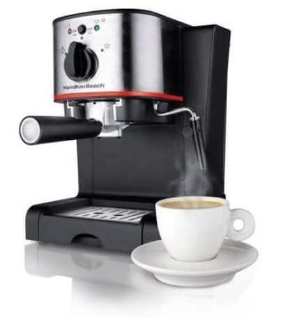 Hamilton Beach Espresso & Cappuccino Maker $44 (Was $118)