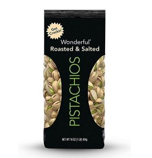 Wonderful Pistachios Roasted & Salted 16-oz Bag $5.69