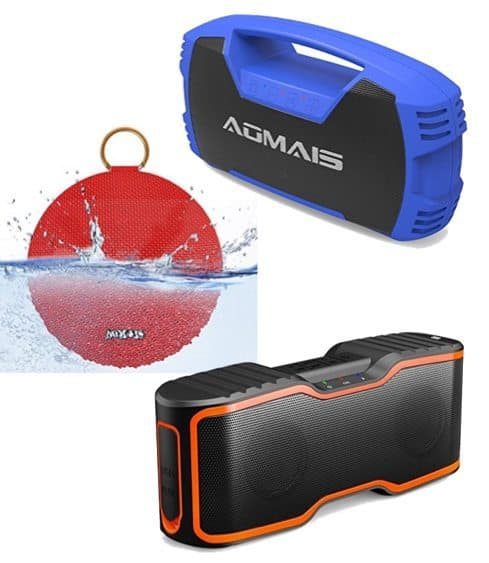 Up to 82% Off AOMAIS Waterproof Bluetooth Speakers **Today Only**