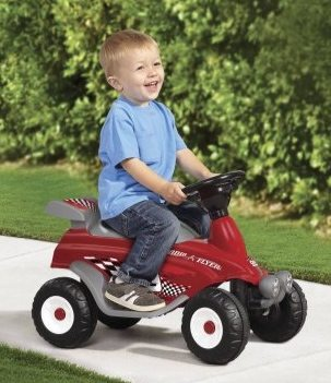 Radio Flyer Moto Racer 6V Battery Operated Ride-On $37.59 (Was $89.97)