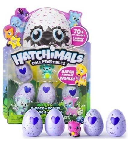 Hatchimals CollEGGtibles 4-Pack + Bonus $7.88