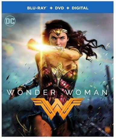 Wonder Woman Blu-ray Combo Only $9.99