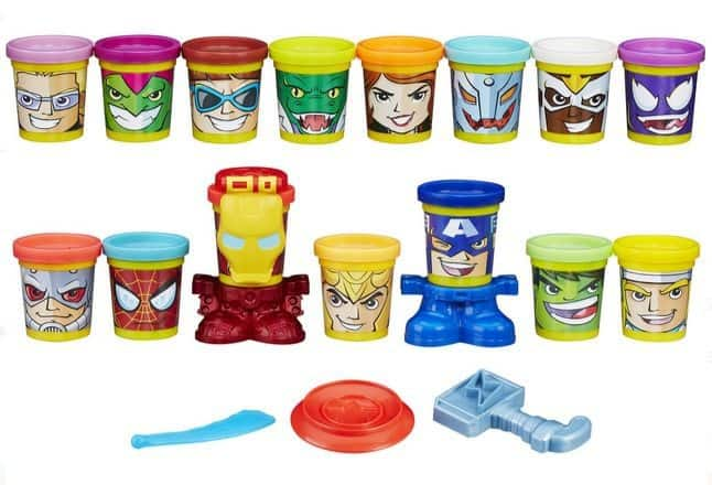 Play-Doh Marvel Super Smash-Up with Can-Heads $10