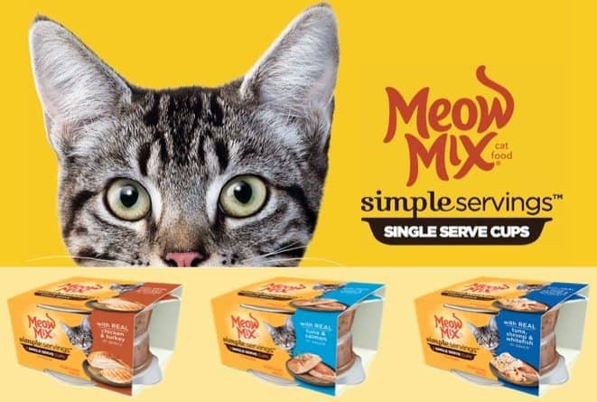 FREE Meow Mix Simple Servings Cat Food Sample