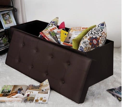 Folding Storage Ottoman $37.49 **Today Only**