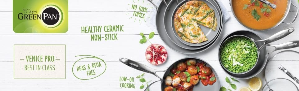 Up to 42% Off GreenPan Cookware **Today Only**