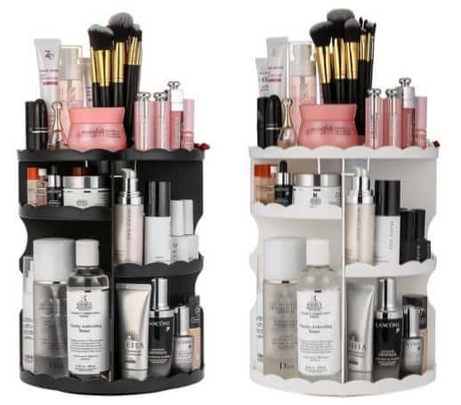 Jerrybox 360-Degree Rotating Makeup Organizer $17.99