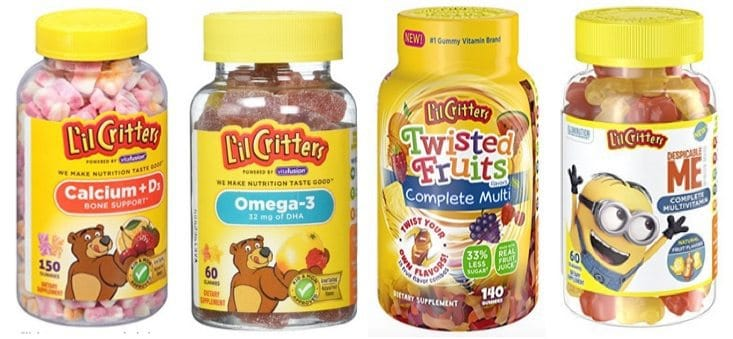 HOT Lil Critters Coupons ~ Calcium Gummy Bears with Vitamin D3 150 Count Only $4.78 Shipped + More!