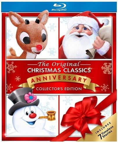 Christmas Classics with Frosty, Rudolph and Santa on Blu-ray Only $13.06 (Was $25)