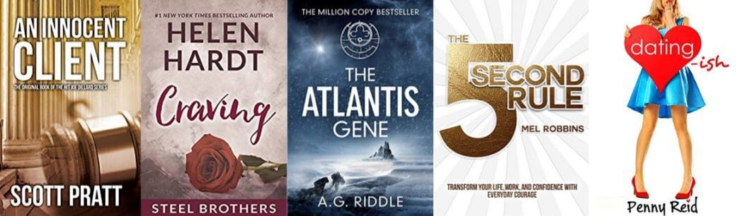 Up to 94% Off Top Kindle Reads **Today Only**