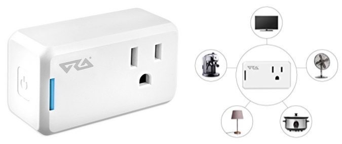 Alexa-Enabled Ora Wi-Fi Mini Smart Plug $36.99 <br>(Was $65) **Today Only**