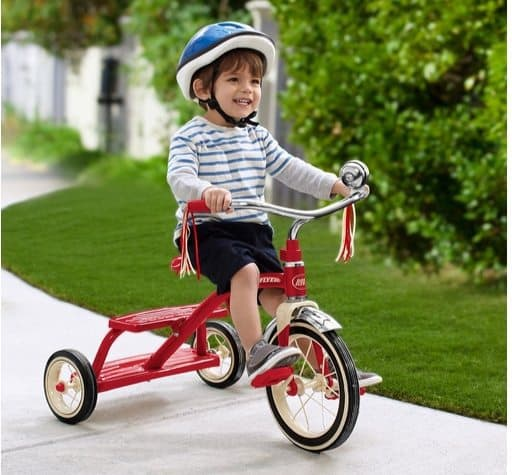 Radio Flyer Classic Dual Deck Tricycle $40.99 (Was $70)