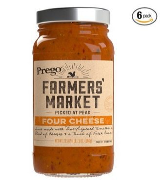 Prego Farmers Market Sauce 6-Pack $3.17 **Only 53¢ Each**