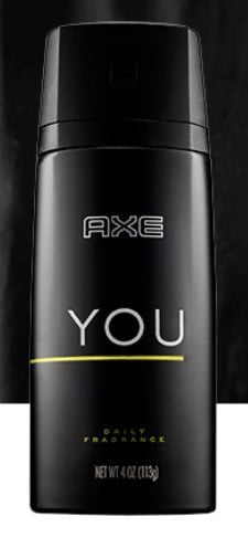 Free Axe You Daily Fragrance Sample