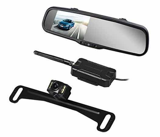 AUTO VOX Wireless Backup Camera Kit with HD Rearview Mirror Monitor $99 (Was $170)