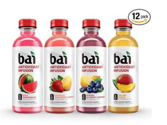 Bai Oasis Antioxidant Infused Beverages Variety Pack (Pack of 12)