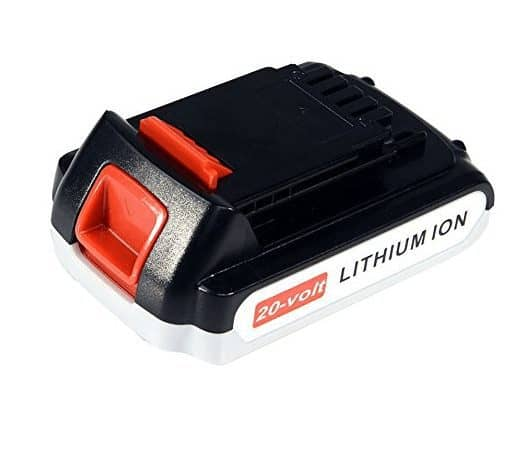 Replacement Black & Decker 20-Volt Battery ONLY $15