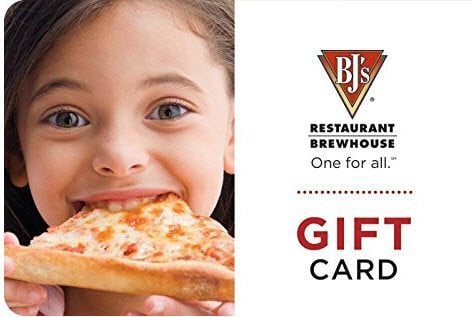 $50 BJs Restaurant & Brewhouse Gift Card ONLY $40.00 *Starts at 8:15AM PST**