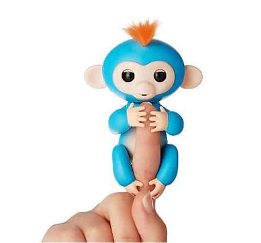 Fingerlings Interactive Baby Monkey Boris (Blue with Orange Hair) $14.99 **HOT**