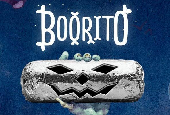 Chipolte: $3.00 Burritos on Halloween