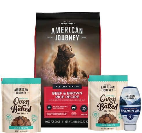 28lb American Journey Dog Food + 32oz Treats + 18oz Oil Supplement ONLY $17 Shipped *HOT*