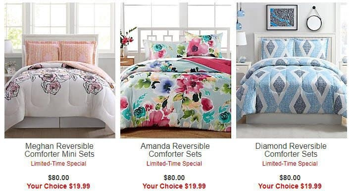 Macy's: Comforter Sets ONLY $19.99 (Was $80)